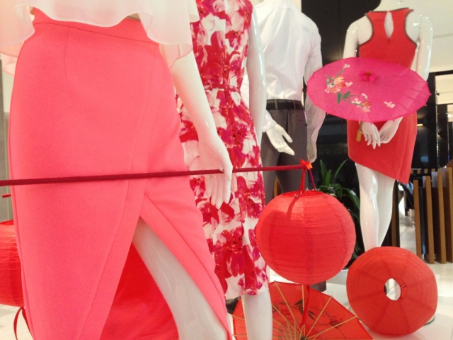 Shopping Centre Displays and Mannequin Merchandising Displays