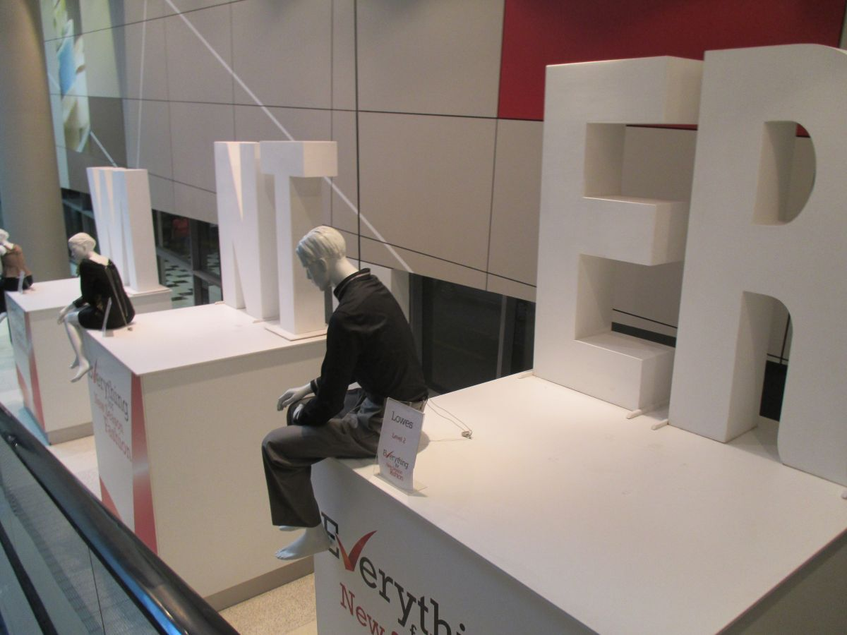 Custom design and build plinths for Mannequin displays