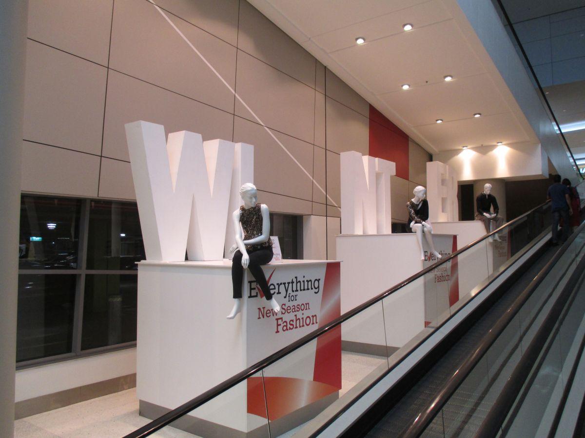 Custom design and build plinths for Mannequin displays