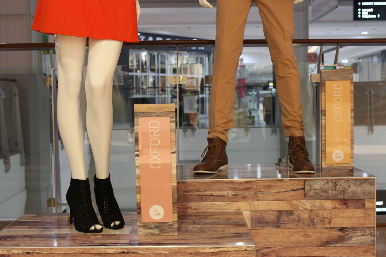 Custom design and build Mannequin display plinths