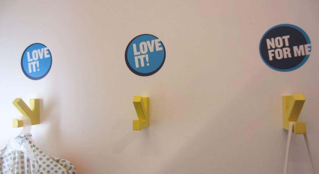 Fitting rooms - Old Navy, NYC