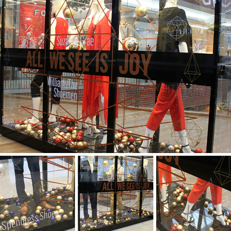 Visual Merchandising | Christmas Visual Merchandising | Shopping Centre Visual Merchandising | Retail Displays | Broadway Shopping Centre