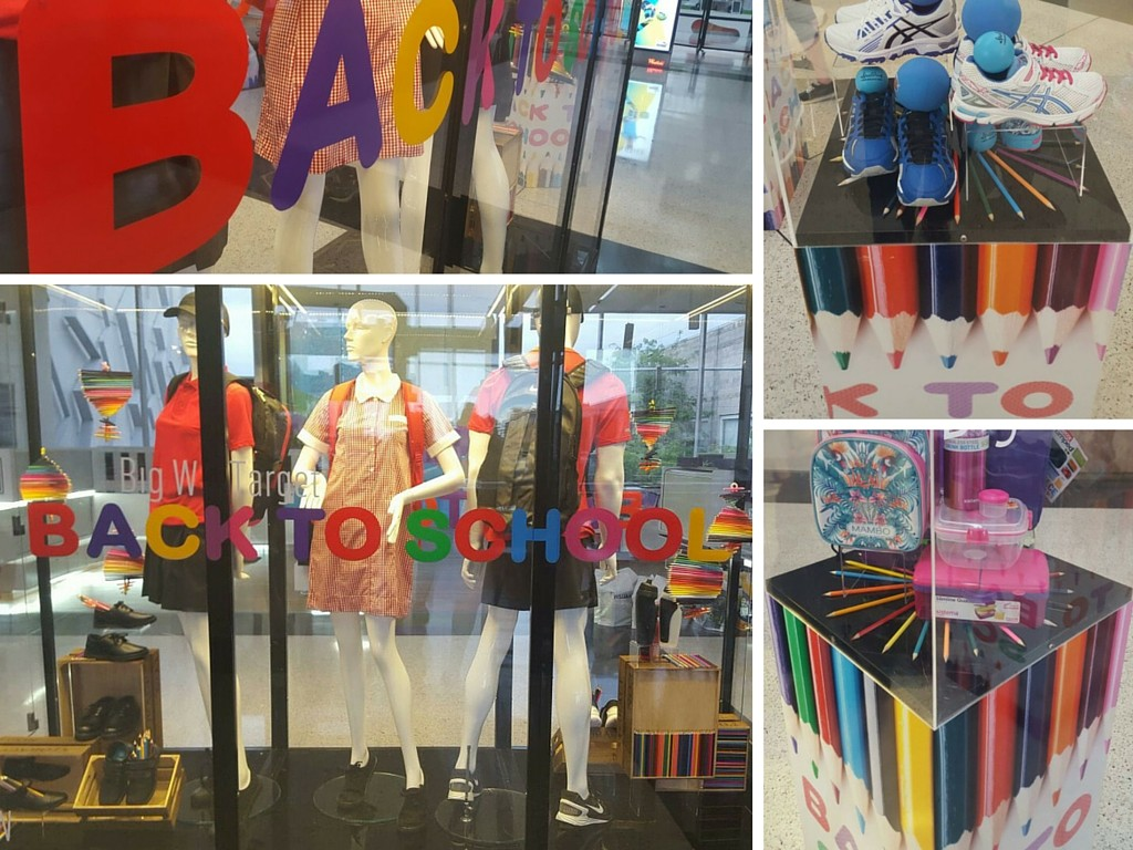 isual Merchandising | Back to School Visual Merchandising | Shopping Centre Visual Merchandising | Retail Displays | Kids | Westfield Penrith Shopping Centre