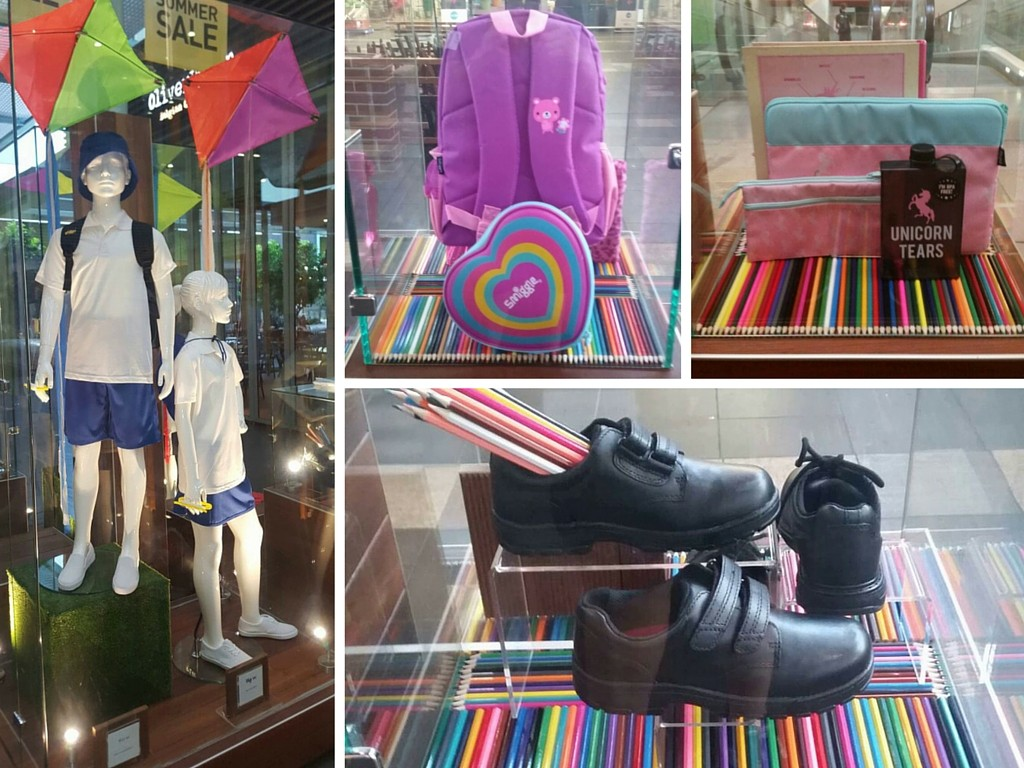 Rouse Hill Back to School Visual Merchandising