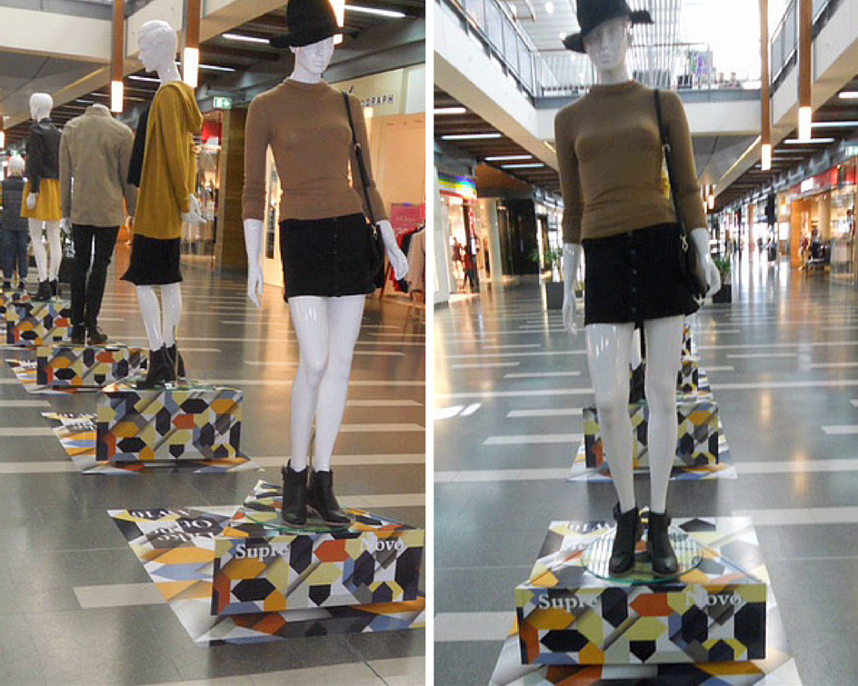 Canelands Central | Shopping Centre Visual Merchandising | Autumn Winter 2016 | Retail Display | Mannequins Merchandising | Styling